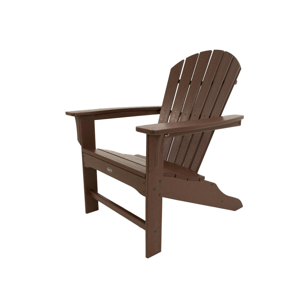 plastic outdoor chairs trex outdoor furniture cape cod vintage lantern plastic patio adirondack  chair TMRIBQQ