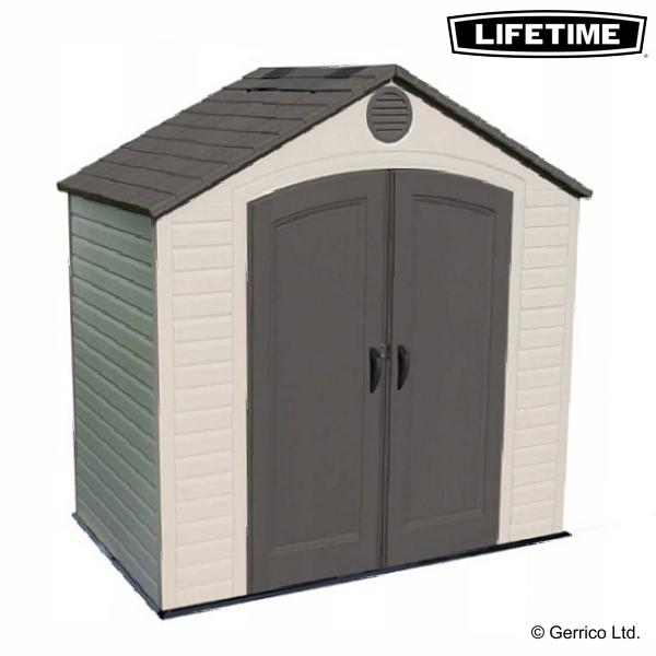 plastic sheds lifetime 8x5 plastic shed 6418 EFUIENR