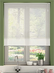 pleated blinds duovoile ivory thumbnail image WNNOLNW