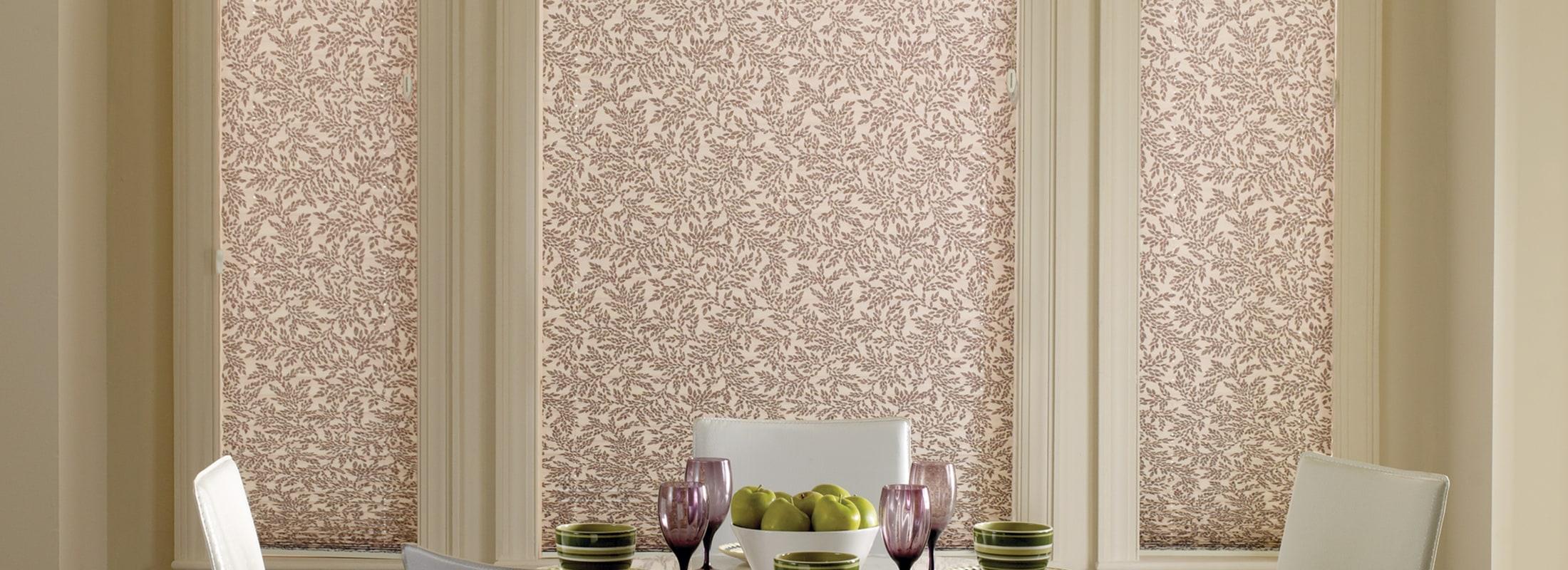 pleated shades pleated blinds in botanicals eucalyptus - pleated ... ENKLLCO