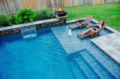 pool designs like the water feature NCBYJXB
