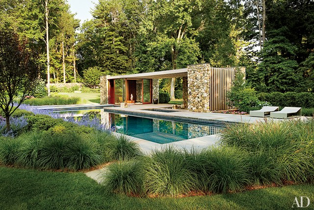 pool house designs a poolhouse in westport, connecticut, designed by new york city  architecture VGQPZUZ