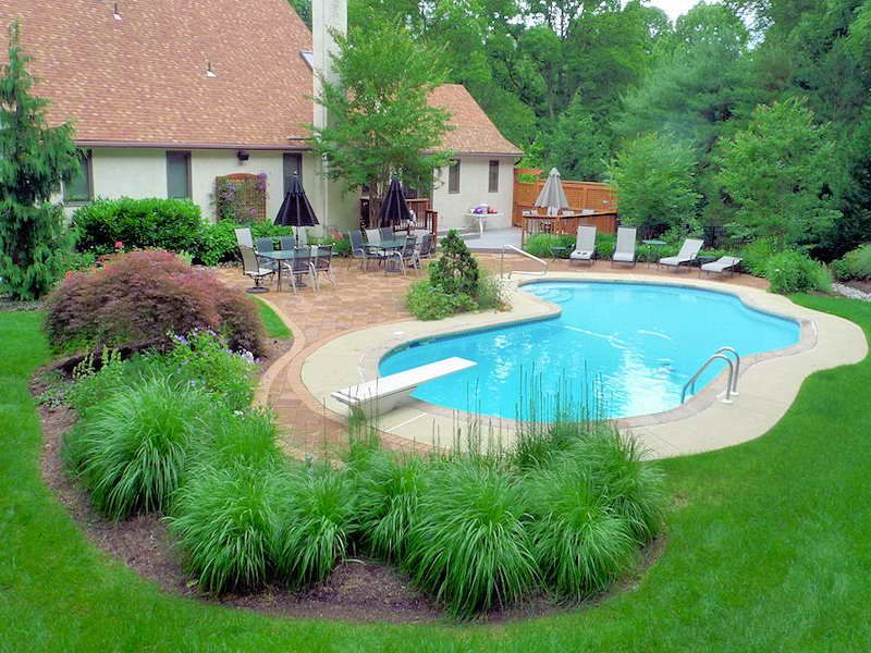 pool landscaping ideas accessories VTAYIPH