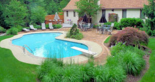 pool landscaping ideas nice idea for inground pool landscaping XKOSGNV
