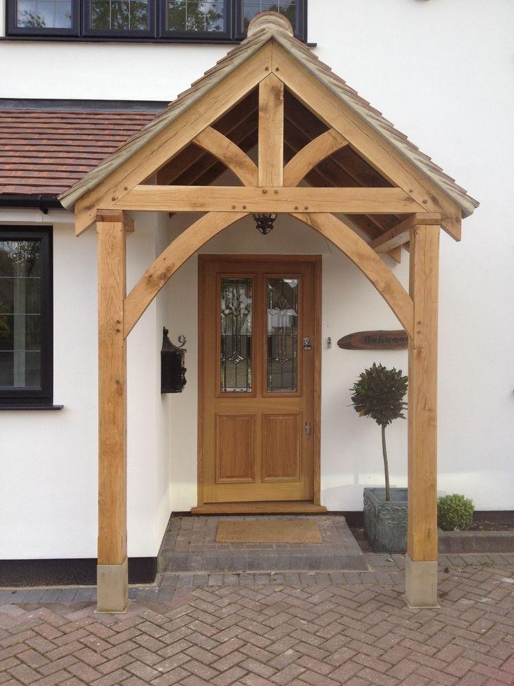 porch canopy bespoke green oak porch front door canopy handmade in shropshire grosvenor VCTYGYP