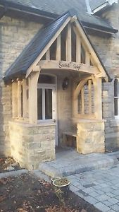 porch canopy image is loading oak-porch-doorway-wooden-porch-canopy-entrance-self- GBWZJHT