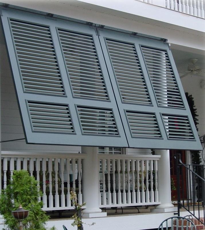 porch mounted bahama shutters BQTWAVK