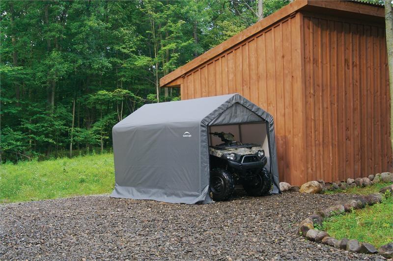 portable storage sheds shelterlogic barn style portable storage shed 6x10x6.5 LSIRINS