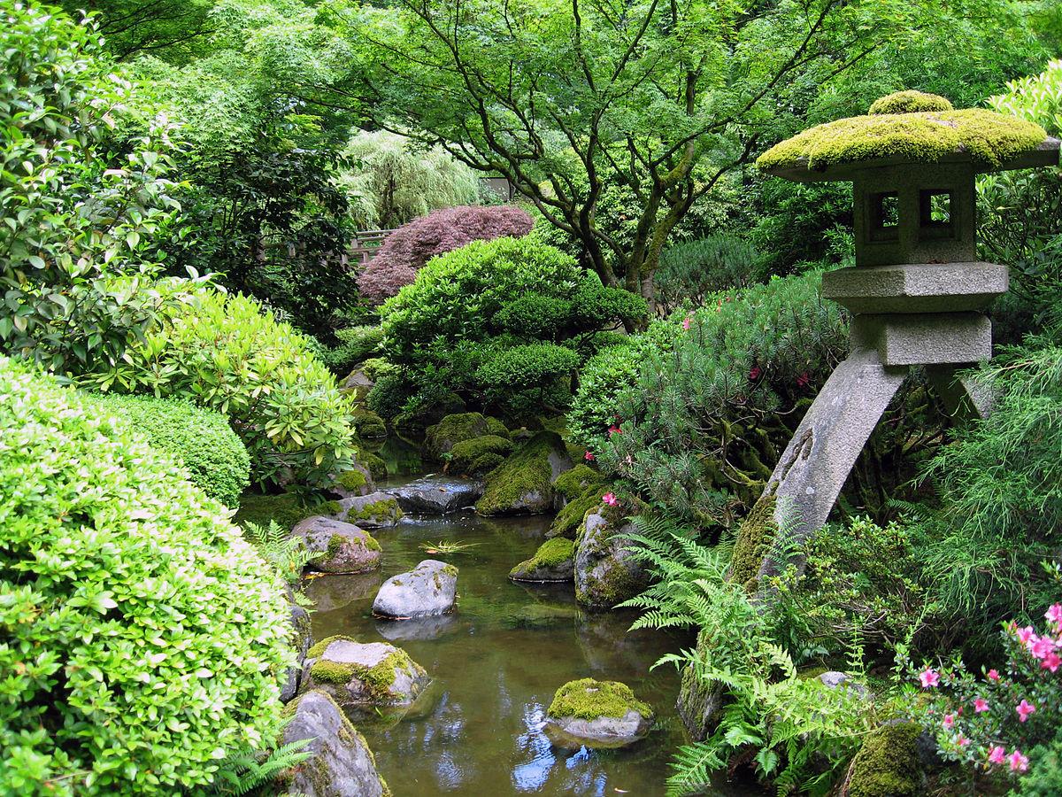 portland japanese garden - wikipedia LBTGOZH