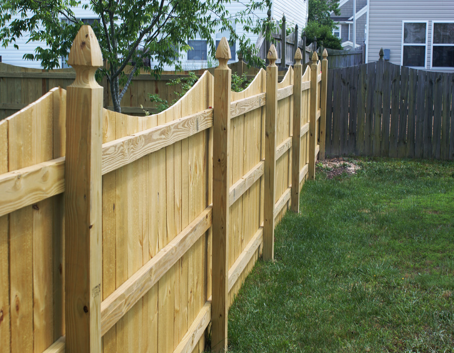 privacy fencing 100 post privacy fence - big jerryu0027s fencing - nc - fl WABROME