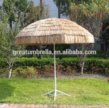raffia tiki straw garden parasols BKDDSWN
