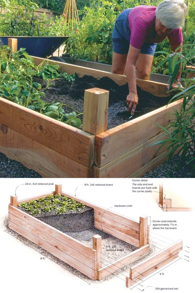 raised bed gardening all-about-raised-bed-garden-apieceofrainbow (24) MOGAKWB