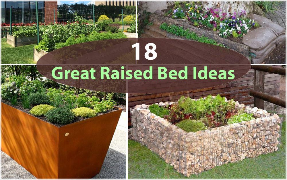 raised bed gardens 18 great raised bed ideas | raised bed gardening | balcony garden EDOQUOX