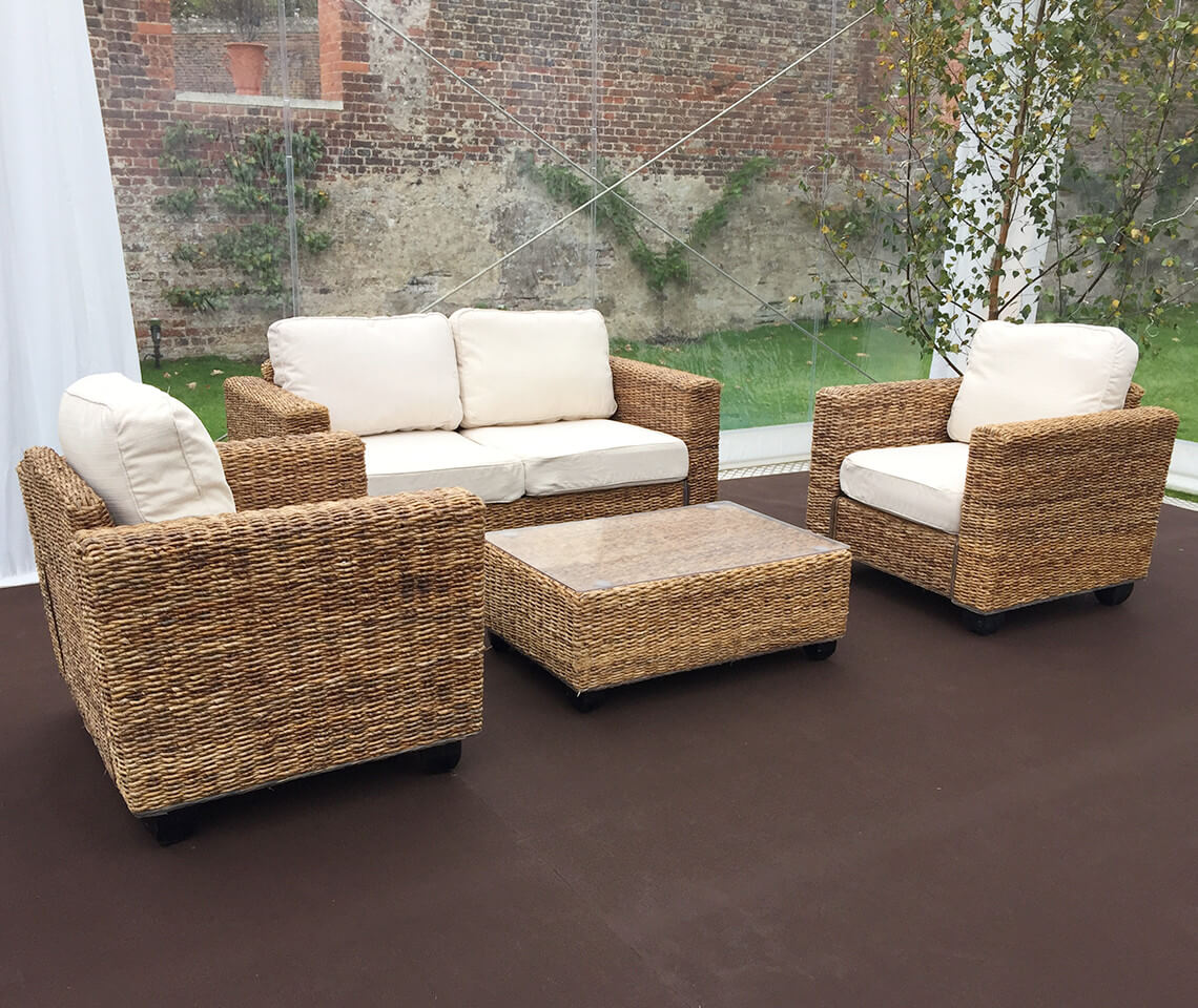 rattan furniture indoor natural rattan sofa set - furniture4events WRGTIRY