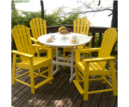 resin patio furniture resin dining and bar tables KFAXIJH