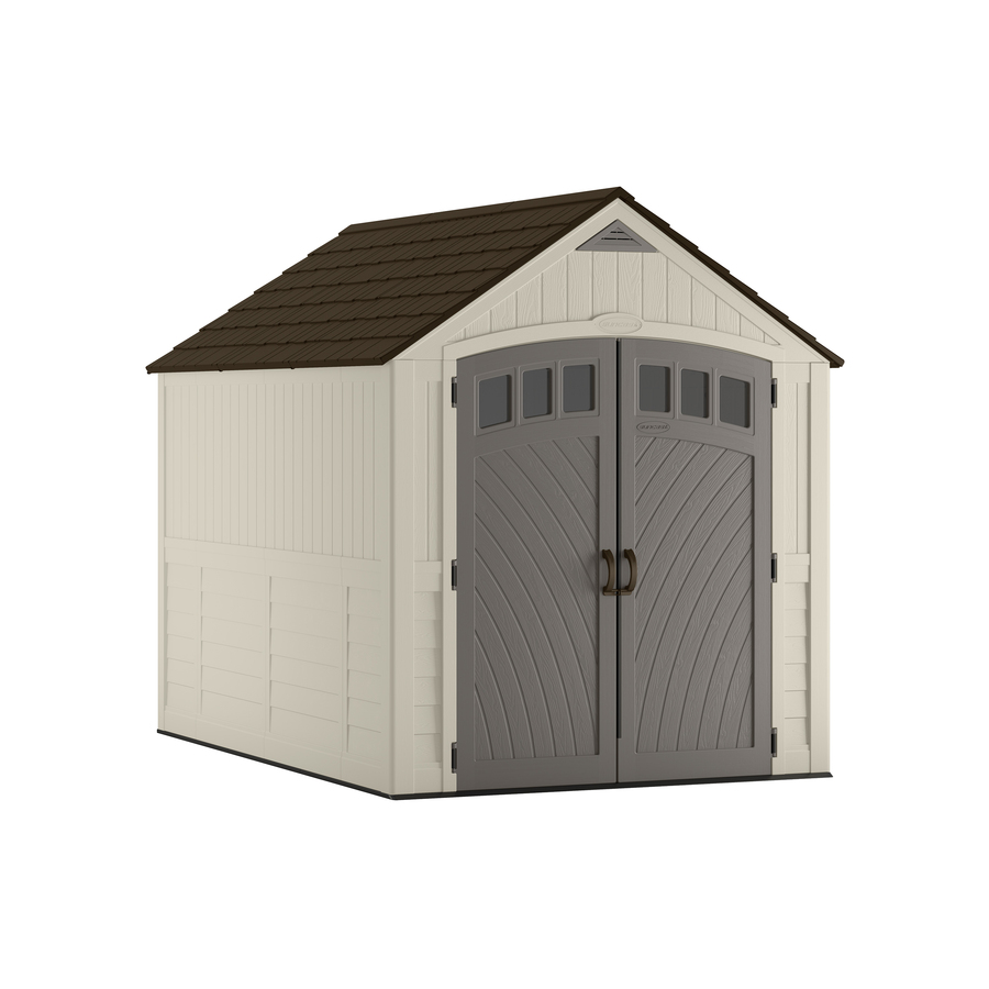 resin storage sheds display product reviews for covington gable storage shed (common: 7-ft x 10 TQFLAQY