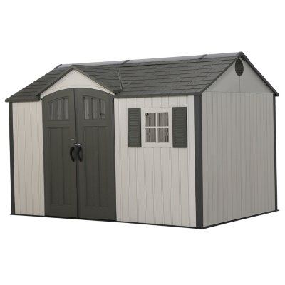 resin storage sheds lifetime 12.5u0027 x 8u0027 outdoor storage shed HJCGHGF