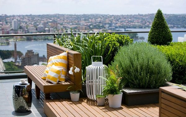 roof garden design small roof terrace UMFBUAM