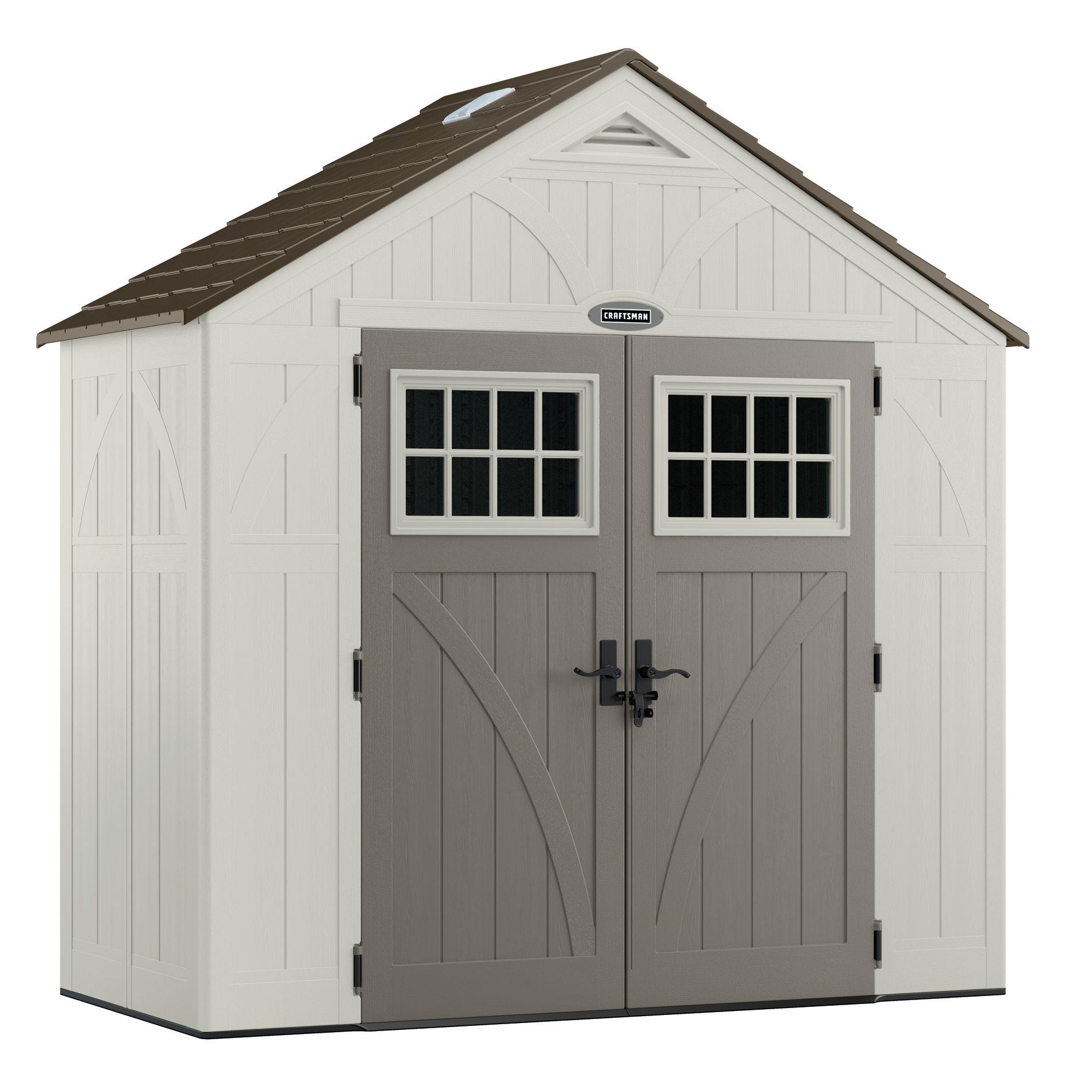 rubbermaid sheds craftsman cbms8401 8u0027 x 4u0027 storage shed VPDHZYB
