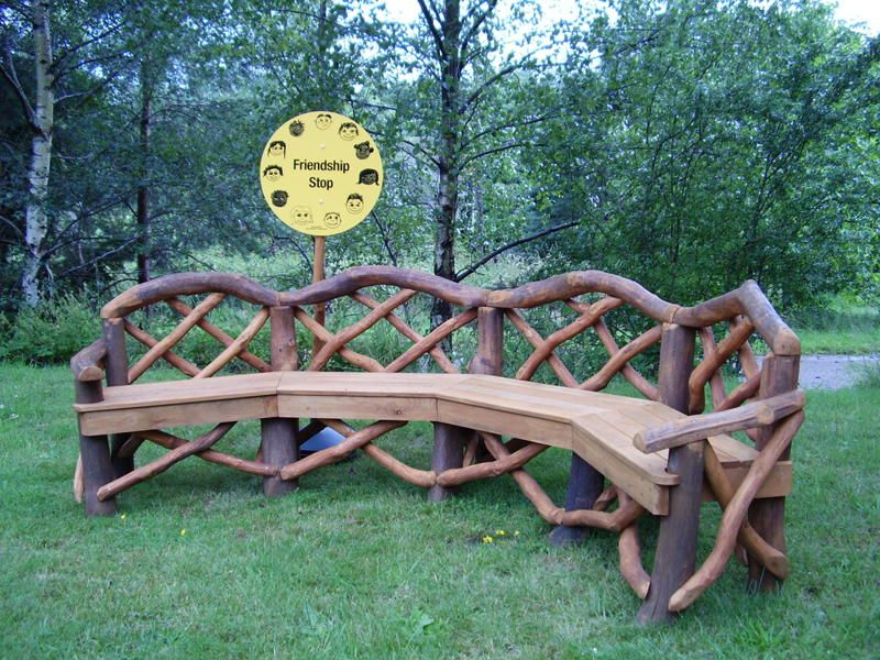 rustic outdoor furniture   coppice creations - rustic garden furniture and MFYZARB