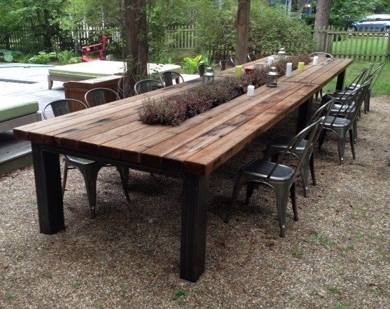 Give a Natural Impression by using Rustic Outdoor Furniture for your Compound