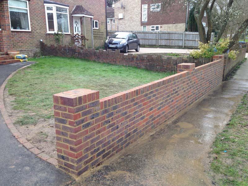 s.a.m brickwork garden walls sussex image 4 CBHULJY
