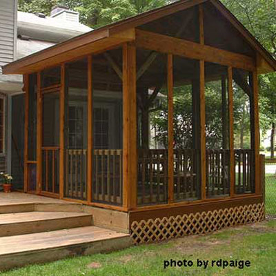 screened in porch ideas screen panels installed on diy screen porch build on back deck IGKFJFL