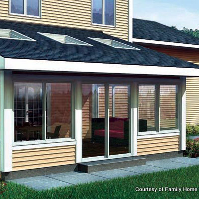 screened in porch ideas screen porch plan 90021 by familyhomeplans.com HBZFKUX