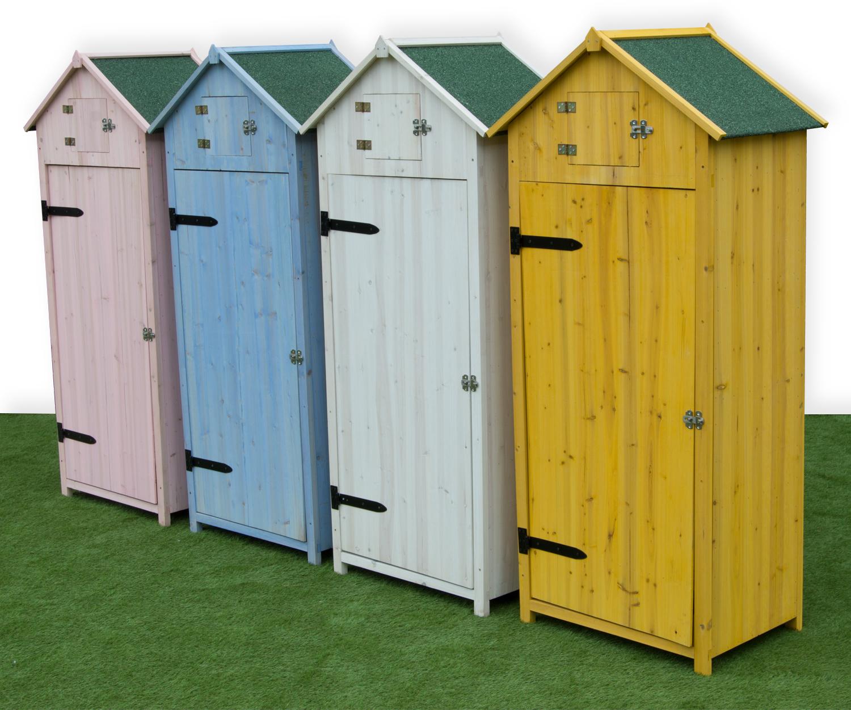sentinel woodside wooden sentry box beach hut outdoor garden storage  cupboard NLDEQRR