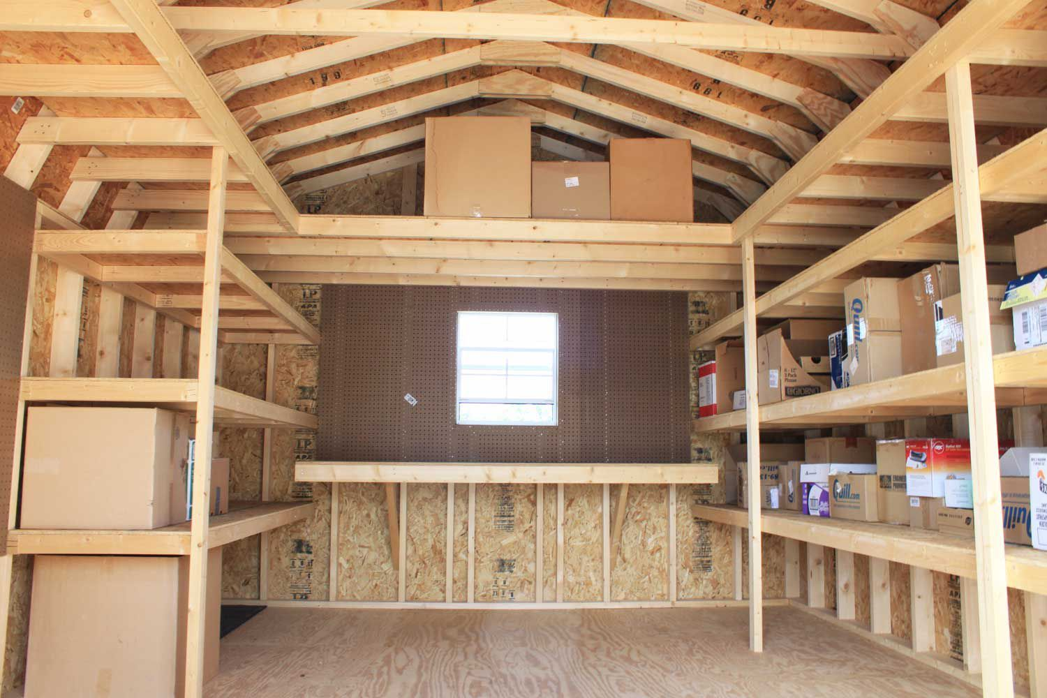 shed storage ideas storage shed shelving ideas more DGJVFCO