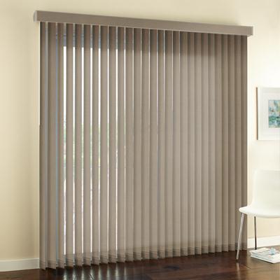 signature basic fabric vertical blinds. tan 2928 KRCWEEJ