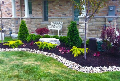 simple cheap and easy landscaping design ideas KRAQUEL