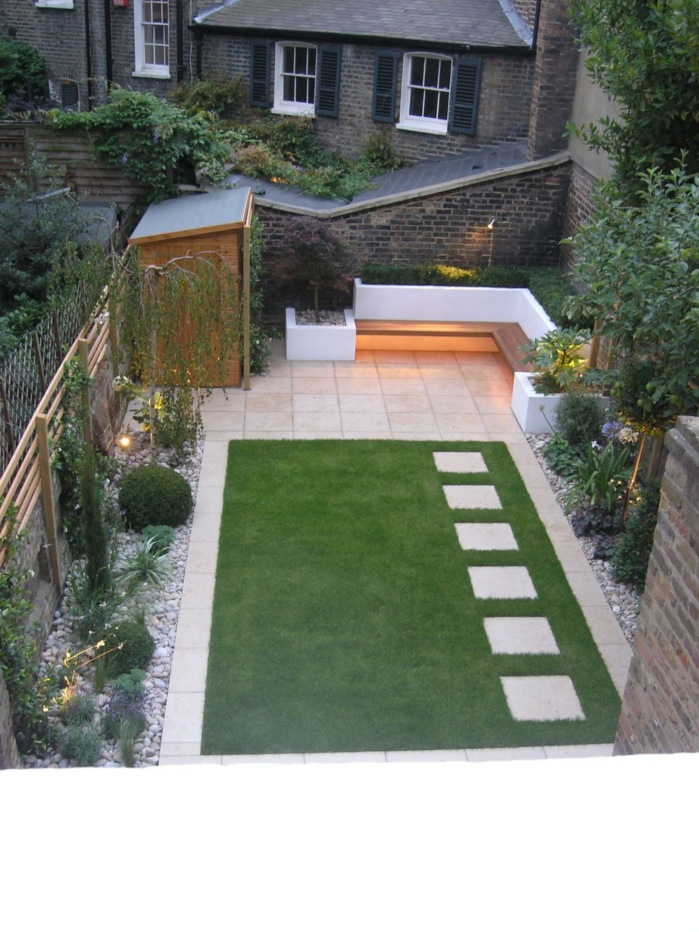 simple garden ideas 9 ideas for small, cheap and low maintenance gardens #low #ideas #small MLFRIOK
