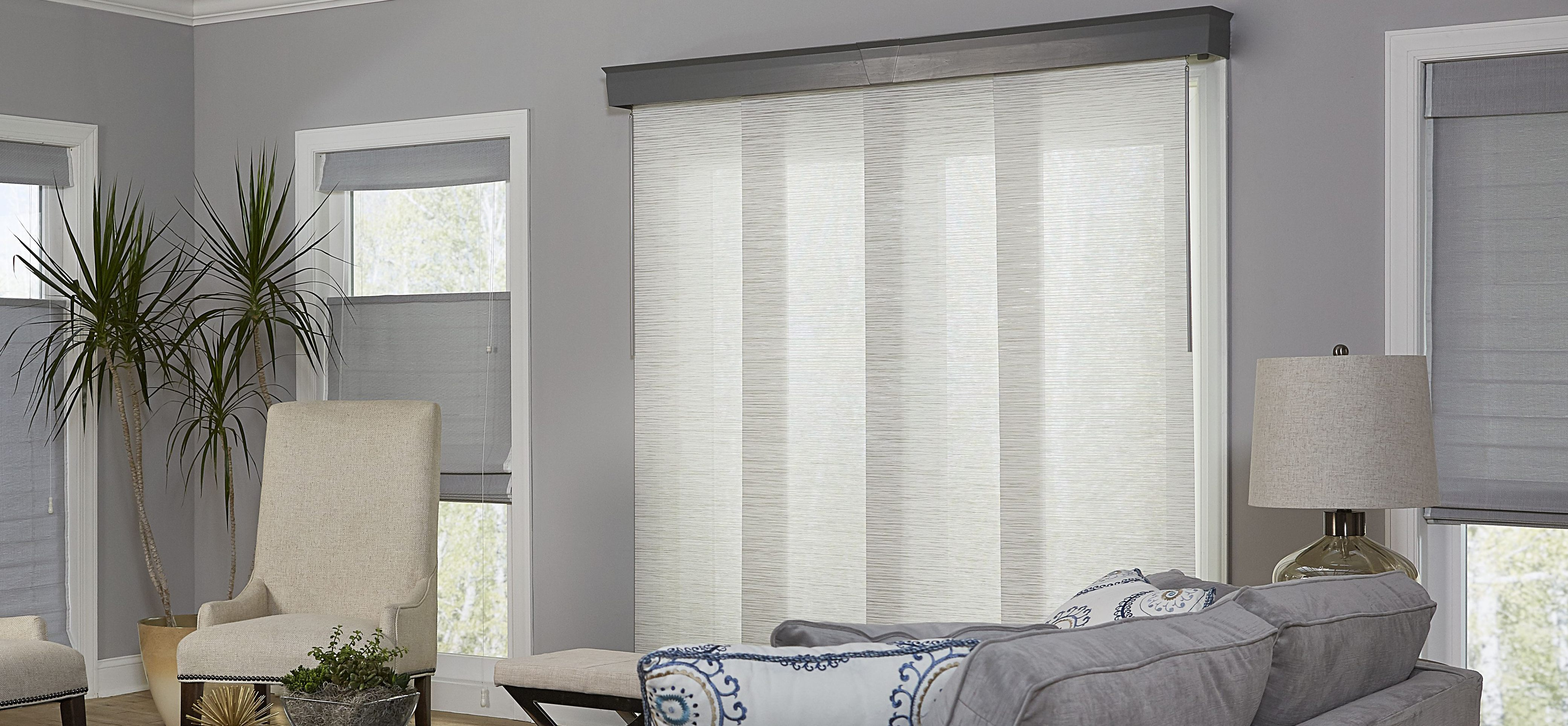sliding door blinds if you need to block glare and harmful uv rays coming in PTAGQPJ