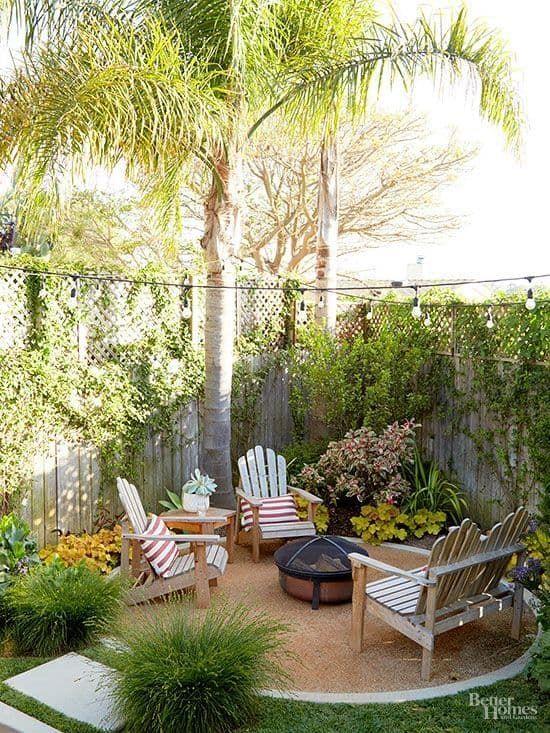 Essential small backyard ideas