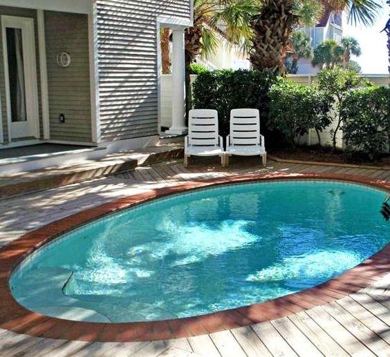 small backyard pools 19 swimming pool ideas for a small backyard (18) IUNWJKX