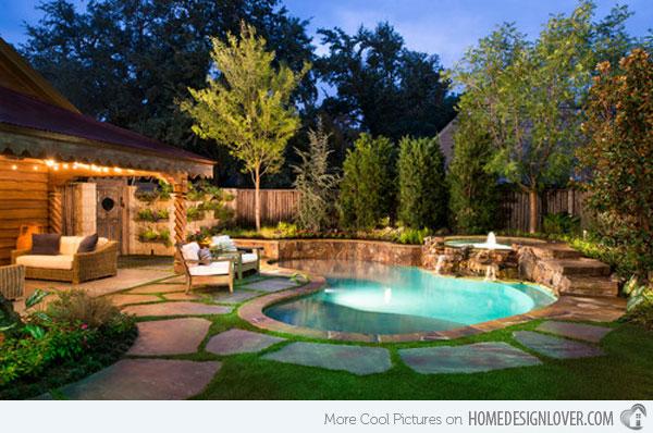 small backyard pools pool spa OYMEASZ