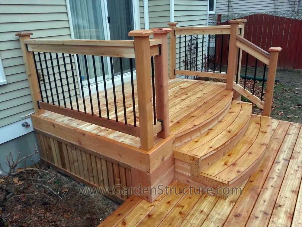 small deck ideas - possibly your lot is smaller compared to you AWVRJFB