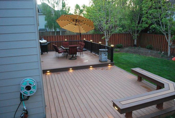 small deck ideas small deck landscaping ideas MONXECE