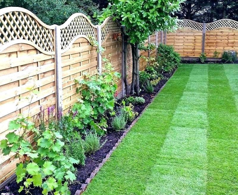 small fence panels garden fencing ideas stylish near me wh SQMNOUM