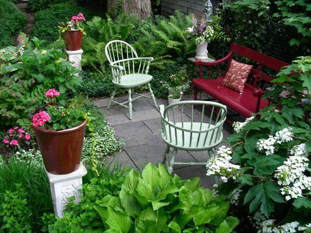 small garden design ideas small garden, big interest eric sternfels (homeowner) philadelphia, pa EVTSKKB
