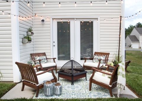 small patio ideas how to decorate a small patio   blesserhouse.com - utilize a small YSBVTXX