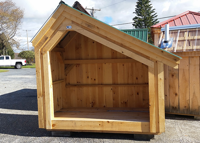 small shed 4x8 hearthstone - build a one cord firewood shed DLYKQSV
