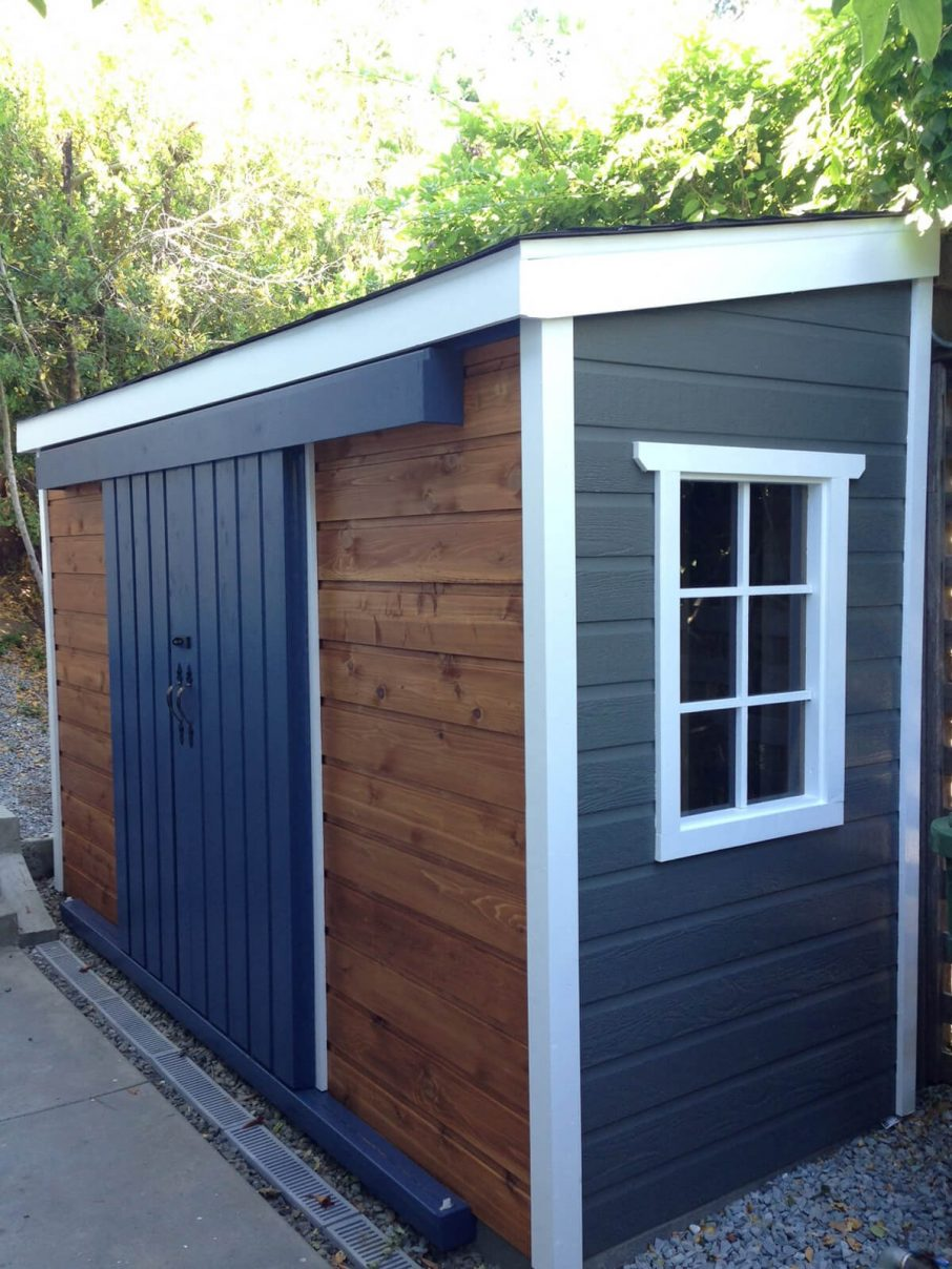 small shed navy blue paint colors wooden small outdoor storage sheds with small QQNKWJX