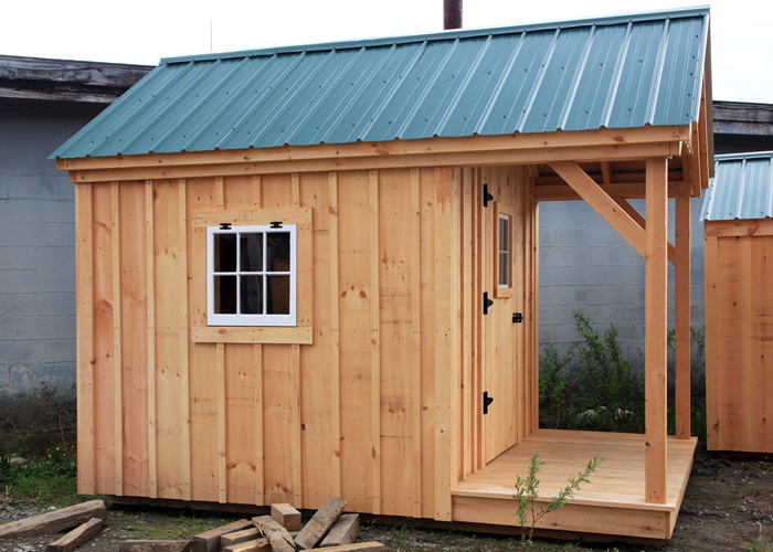 small shed nook-square; 8x12 nook exterior ... SGTHDCH