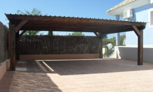 solid wooden carports by woodworks direct OGCVQRR
