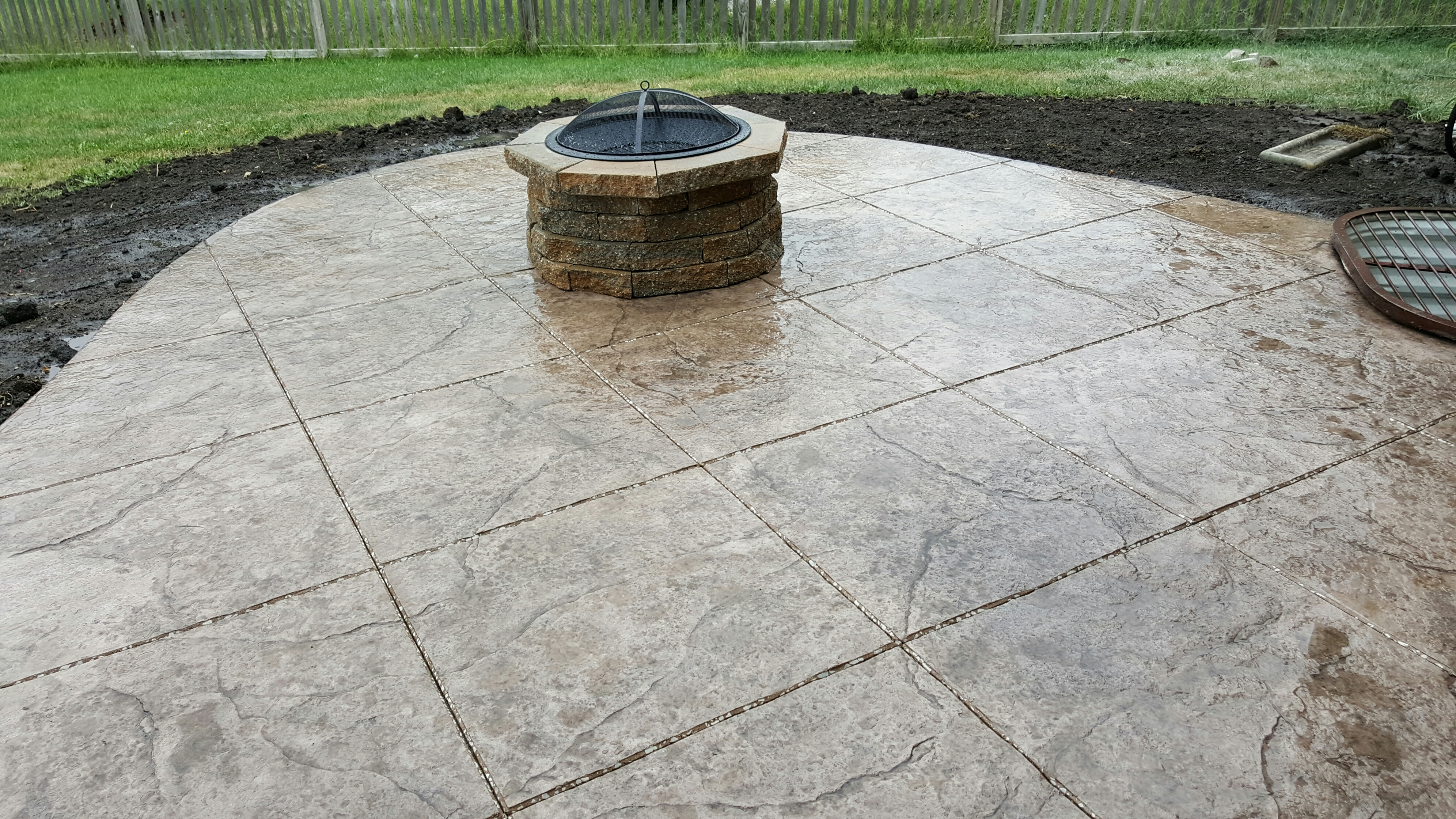 stamped concrete gallery. acid ... BOFXMSH