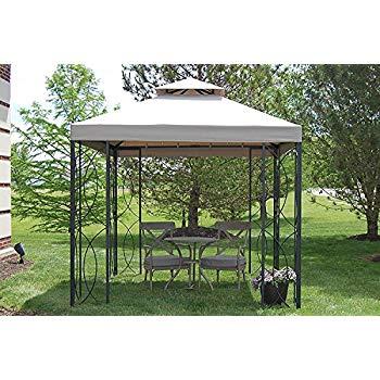 steel gazebo the outdoor patio store 8u0027 x 8u0027 steel frame gazebo with high-grade WEOVXBO