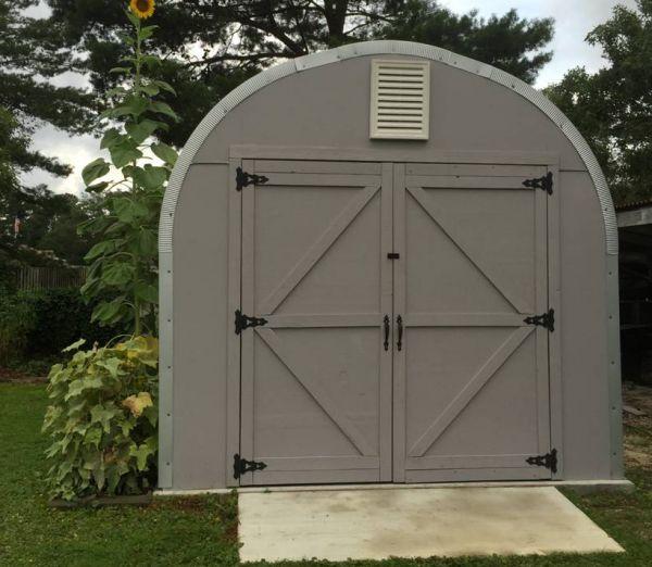 steel sheds metal shed kits ... AFOOJKZ