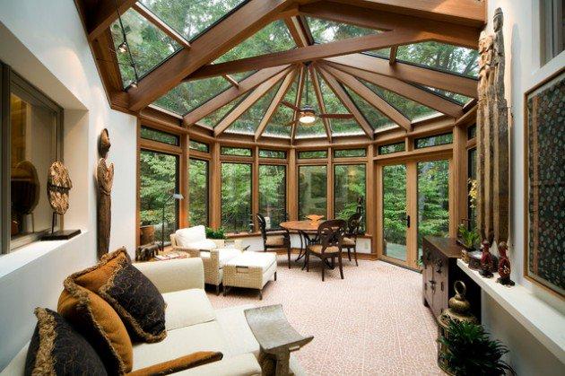 sun room 13 marvelous contemporary sunroom designs for your backyard WNVPCKI